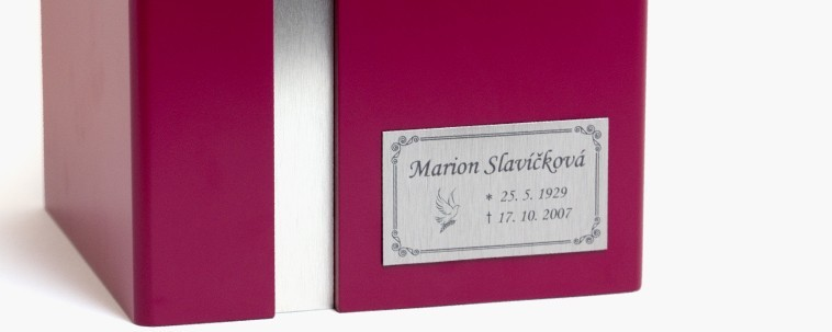 Nameplates - small, silver